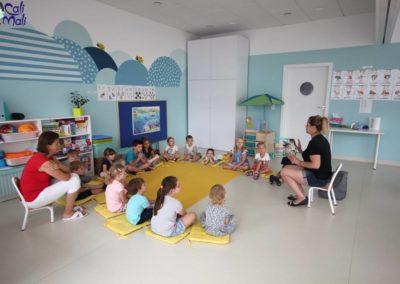 Przedszkole Cali Mali Wizyta Sów