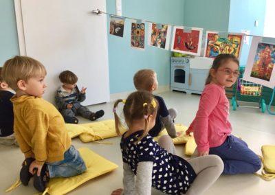 Przedszkole Cali Mali Trening Kreatywności